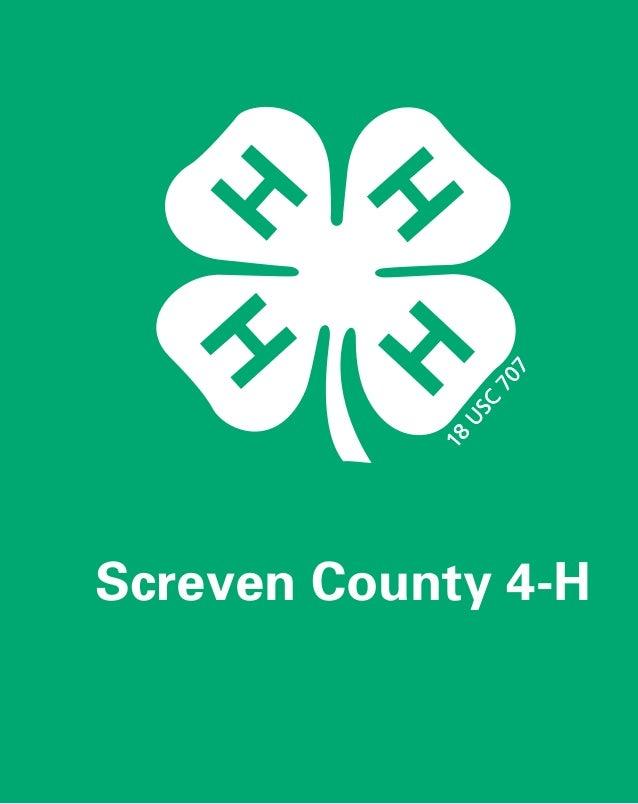 Screven County 4-H