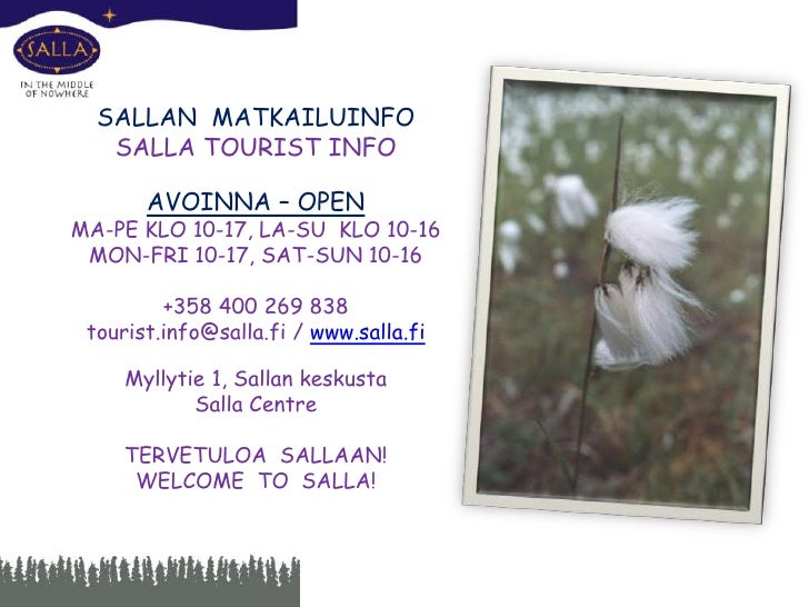 "Sallan Ruska- <br />unohtumaton <br />elämys<br />""Ruska"", the autumn colors,<br /> of Salla – once you've seen it, you'll..."