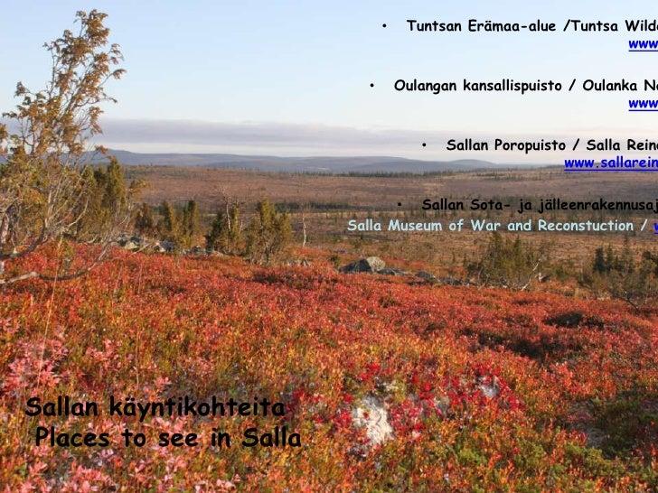 <ul><li>Tuntsan Erämaa-alue /TuntsaWildernessareawww.luontoon.fi