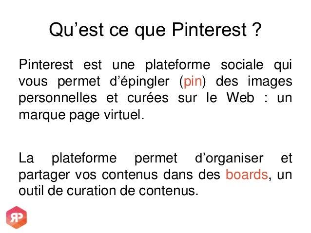 Pourquoi Pinterest est la vitrine de votre vitrine et comment l'exploiter ? Slide 2