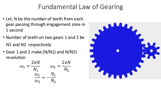 Theory of Machine and Mechanisms (Gears)