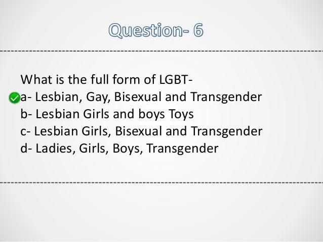 Gay quiz questions