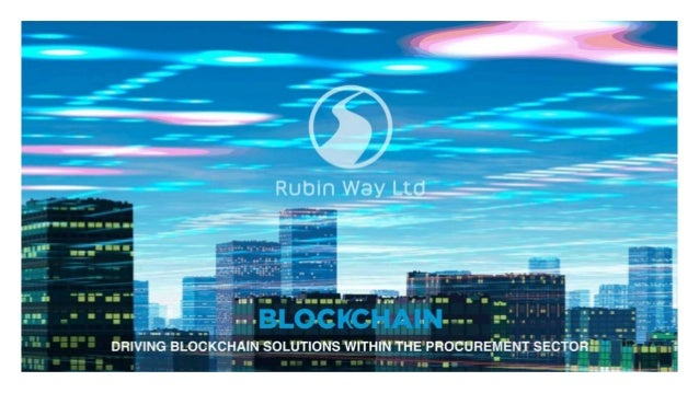 Technology Management Image: Blockchain Disruption In The Supply Chain