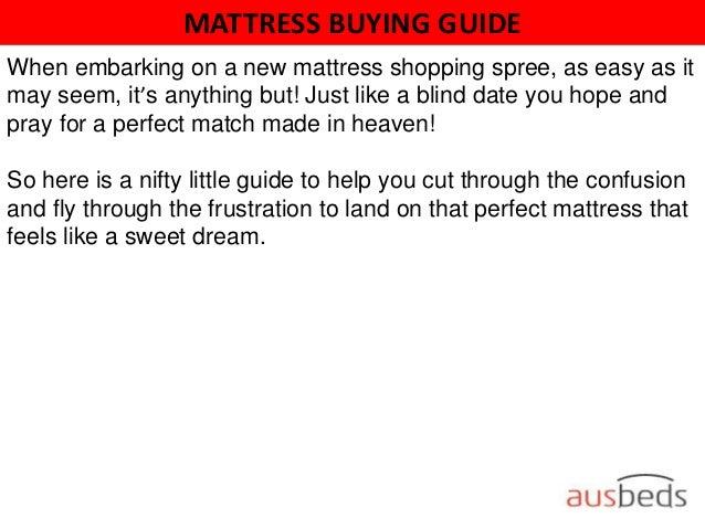 mattress buying guide 2 mattress