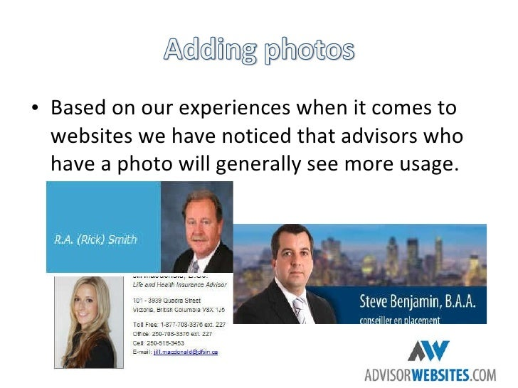 Maximize Your Financial Advisor Website