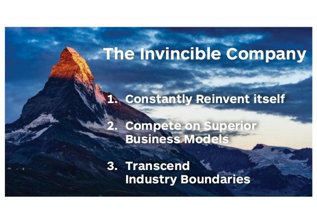 The Invincible Company Slide 3