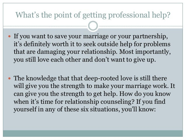 6 signs you need relationship counseling p r o f e s s i o n a l h e l p c a n r e u n i t e y o u 6 signs you need relationship counseling 2 solutioingenieria Image collections