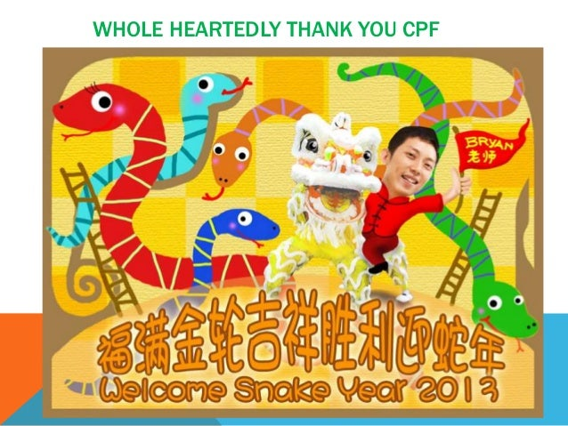 WHOLE HEARTEDLY THANK YOU CPF