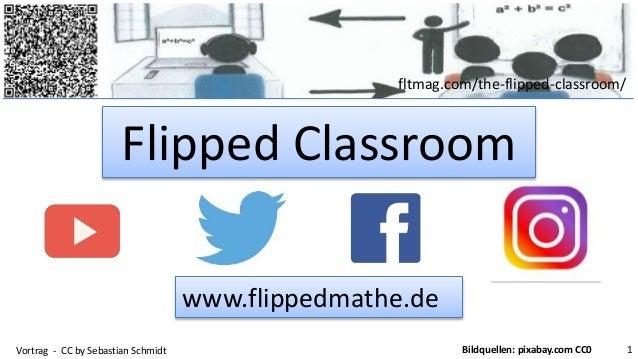 fltmag.com/the-flipped-classroom/ Flipped Classroom Vortrag - CC by Sebastian Schmidt 1Bildquellen: pixabay.com CC0 www.fl...