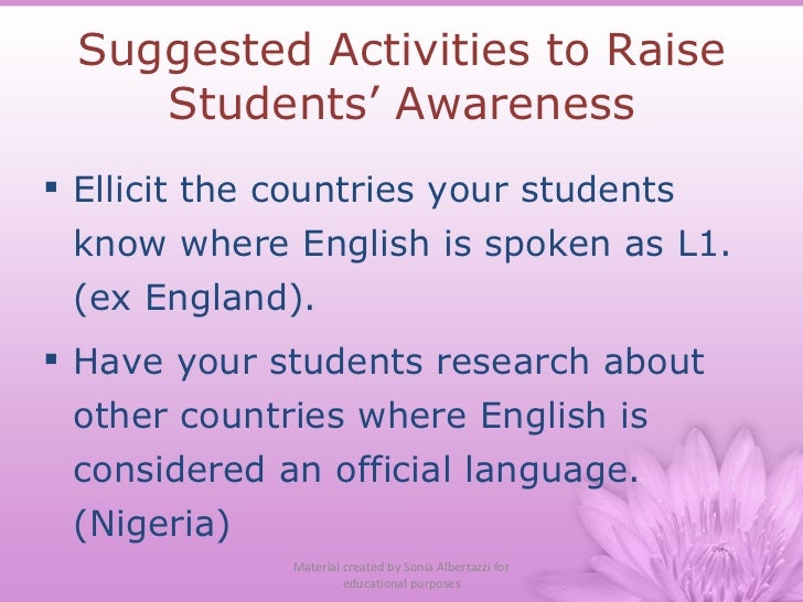 language attitude in nigeria By limiting the language of formal education to the colonizers', a de facto  prejudice was  attitude that affected and still affects education in these  multilingual settings  refuge in english speaking universities in nigeria, ghana , uganda and.