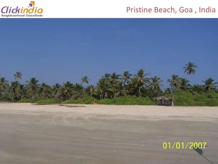 Pristine Beach, Goa , India