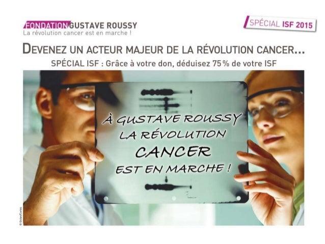 La Révolution Cancer est en marche
