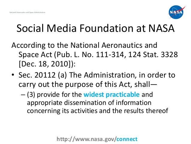 Social Media at NASA, 2012 Edition Slide 2