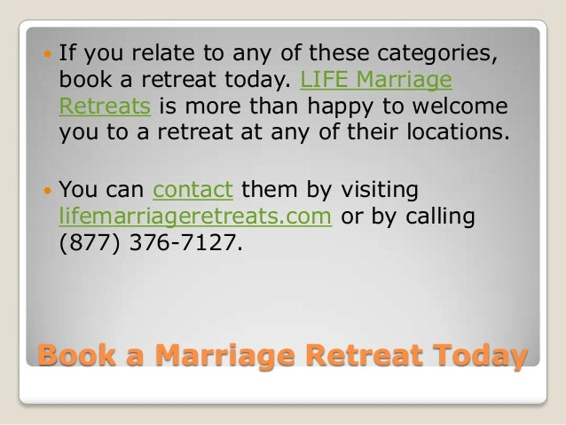 7 Reasons You And Your Spouse Should Attend A Marriage Retreat
