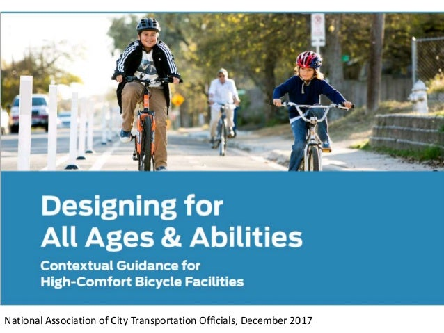 National Association of City Transportation Officials, December 2017