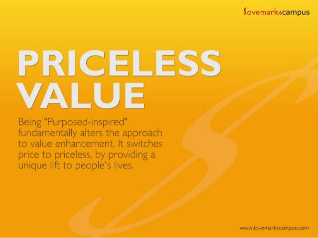 Priceless Value