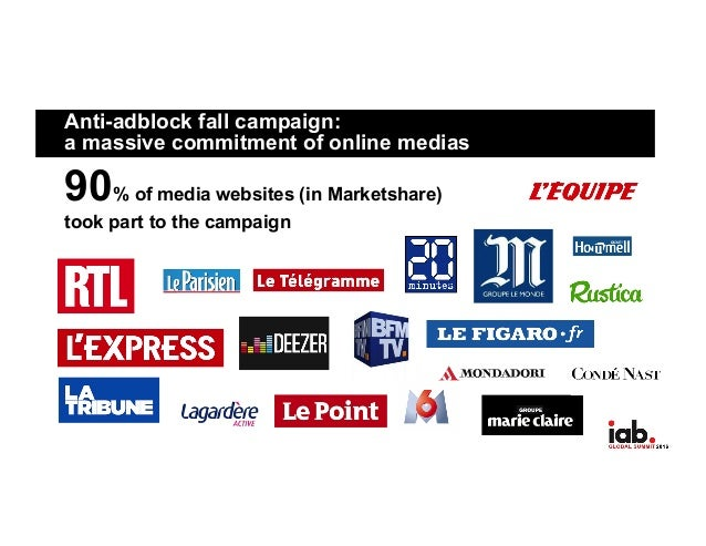 Anti-Adblock fall campaign in France for IAB & GESTE with ...