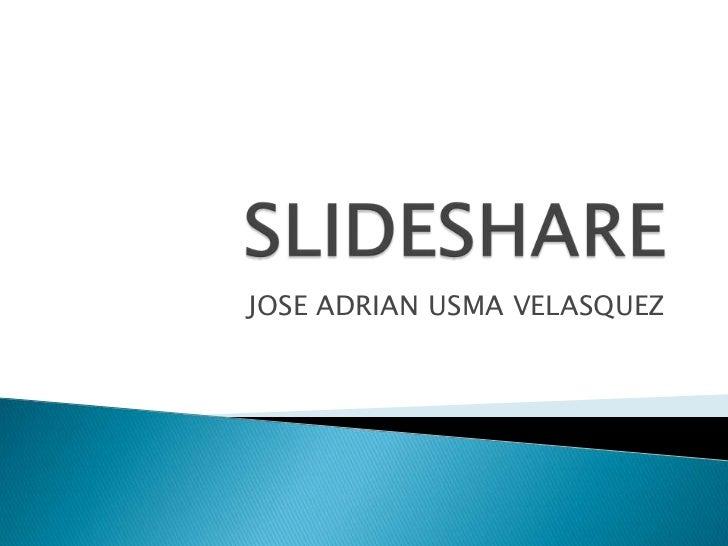 JOSE ADRIAN USMA VELASQUEZ