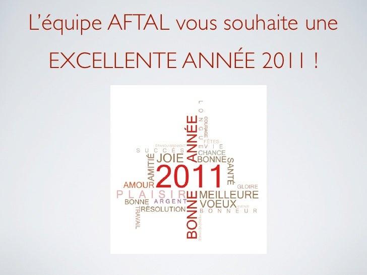 Voeux et objectifs 2011