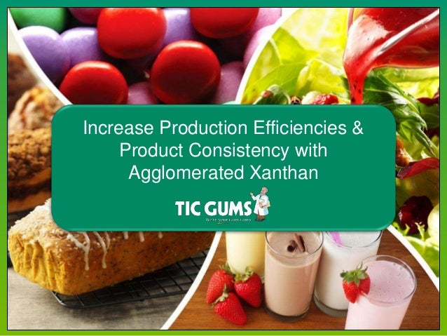 Texture + Stability Solutions Increase Production Efficiencies & Product Consistency with Agglomerated Xanthan