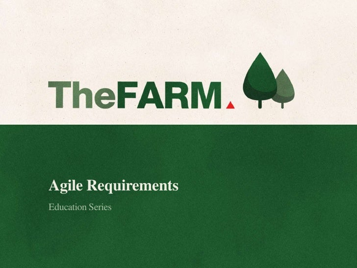 Agile RequirementsEducation Series