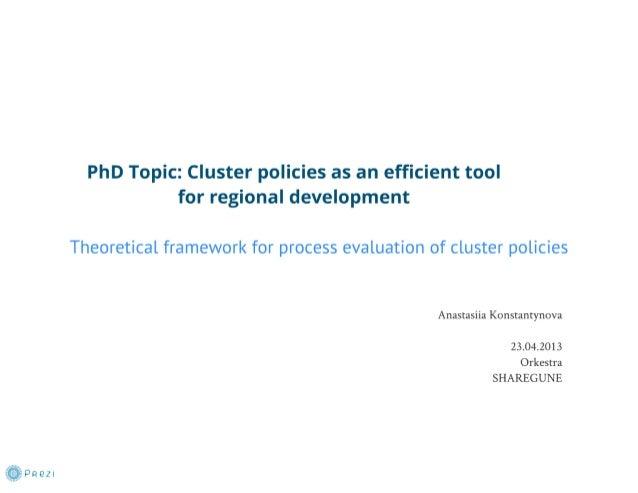 Slideshare anastasiia framework presentation_phd thesis