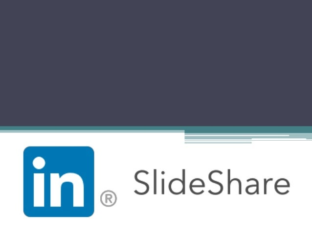 """What is it? • SlideShare is a social network and online platform for professionals. • Mission: """"Our mission is to connect ..."""
