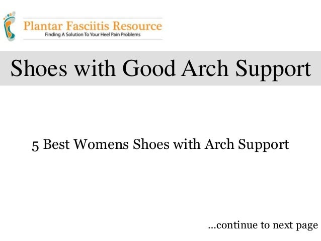 Best Womens Shoes With Great Arch Support