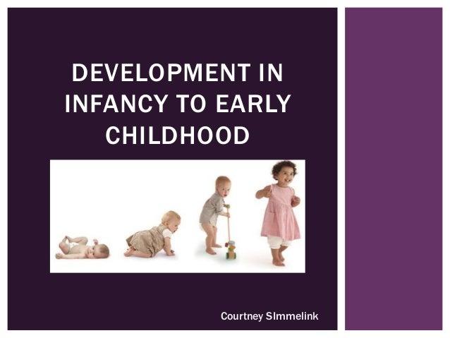 DEVELOPMENT IN INFANCY TO EARLY CHILDHOOD Courtney SImmelink