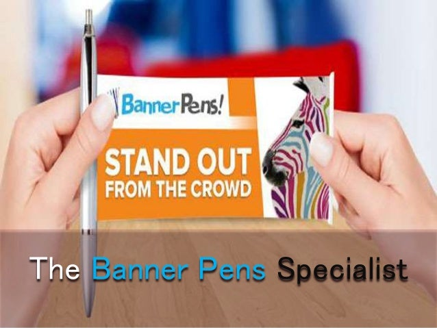 The Banner Pens Specialist