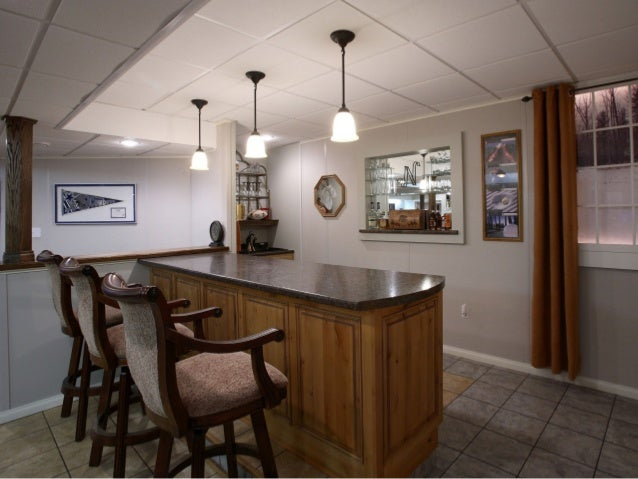 Adding Bar Space In Your New Finished Basement With Owens