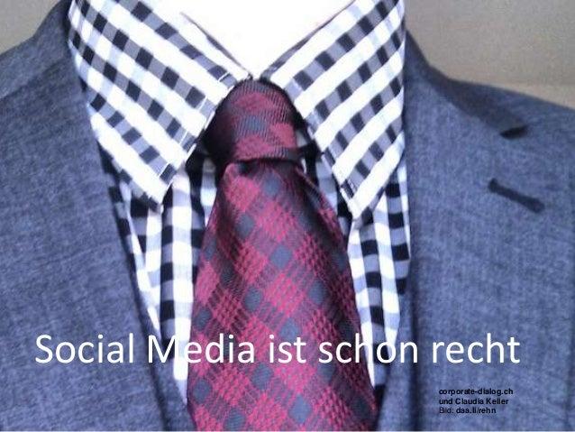 Social Media ist schon rechtBeobachter Event, 04.04. Zürich                                 corporate-dialog.ch           ...