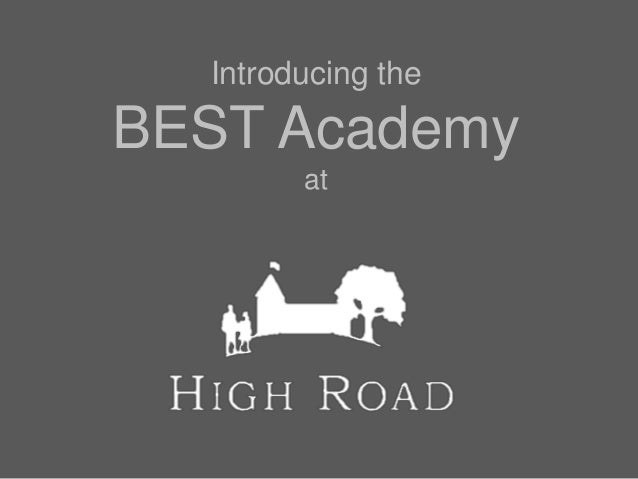 Introducing the BEST Academy at