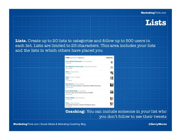 Blueprint To Build The Perfect Twitter Profile Slideshare