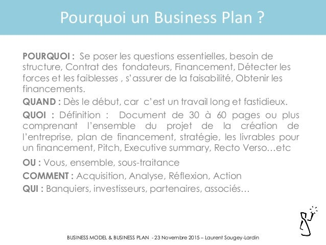 business model not business plan