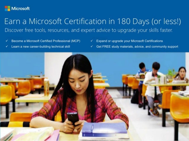 Discover your Microsoft Learning certification pathway