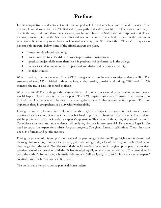 SAT Math Workbook chapter-1-TestMentor\'s