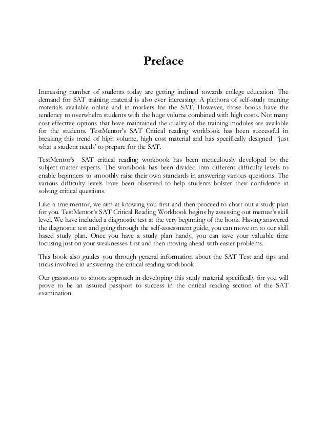 sat critical reading test pdf