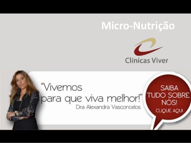 Micro-Nutrição