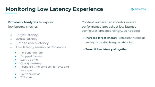 CMAF Low Latency Webinar with Bitmovin, Anevia, and Fastly