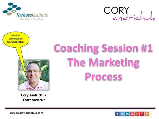 Cory Andrichuk Entrepreneur Join the conversation #coryAndrichuk cory@coryAndrichuk.com