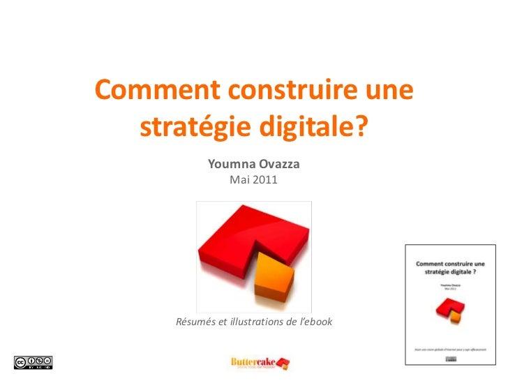Comment construire une stratégie digitale?YoumnaOvazzaMai 2011<br />Résumés et illustrations de l'ebook<br />