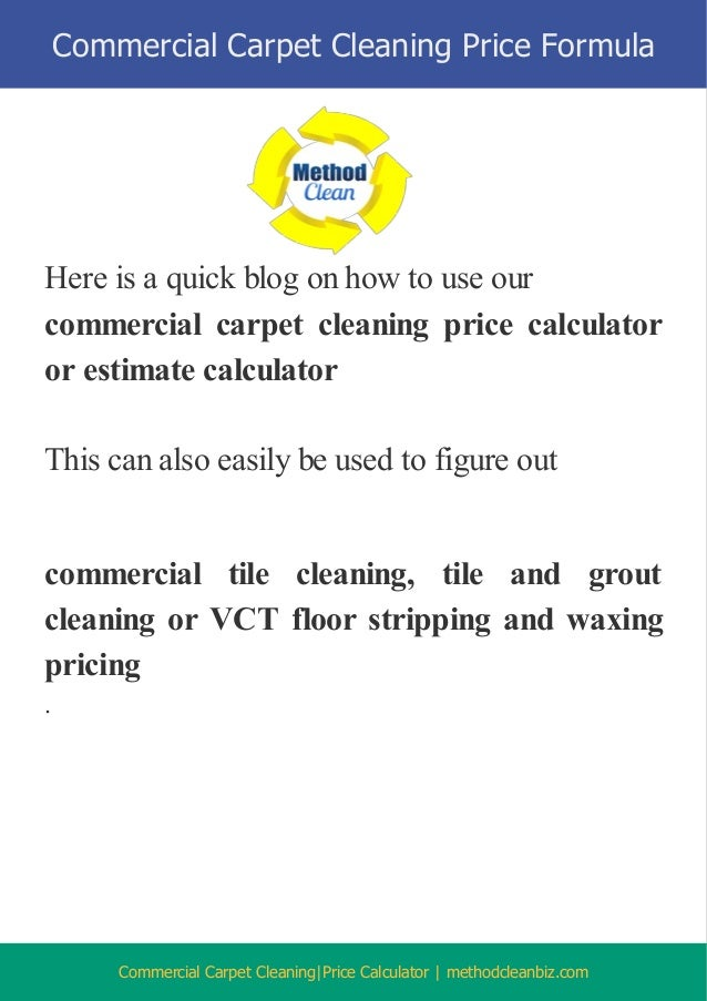 how much to charge for carpet cleaning