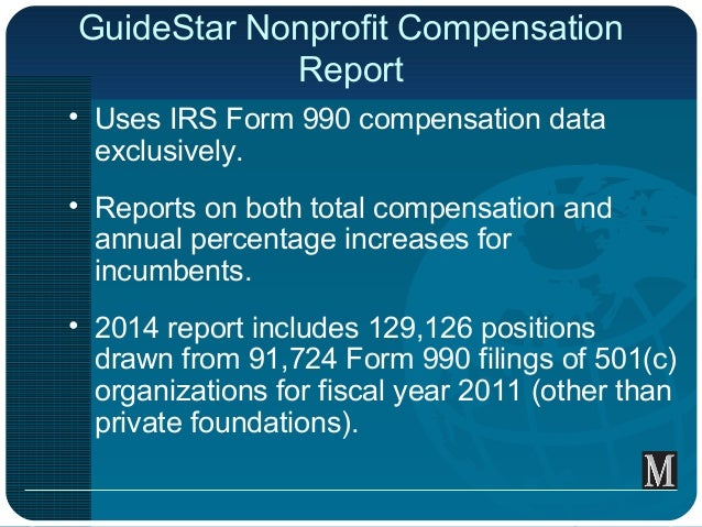 Compensation For Nonprofit Employees | National Council of ...