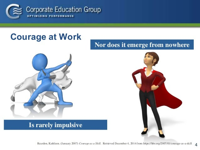 courage in project management