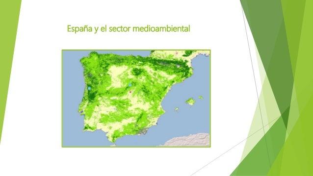 España y el sector medioambiental