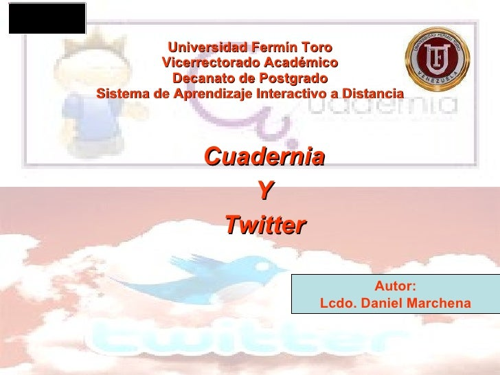 Universidad Fermín Toro Vicerrectorado Académico Decanato de Postgrado Sistema de Aprendizaje Interactivo a Distancia Cuad...
