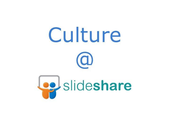 Culture  @