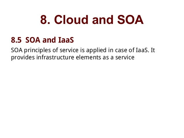 service oriented architecture in cloud computing pdf