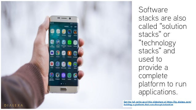 The Software Stack Explained: Building Platforms for